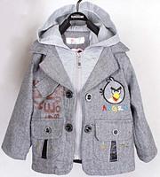 Free Shipping Long Sleeve Baby hooded jacket Children Coat Kids Sweater Clothing