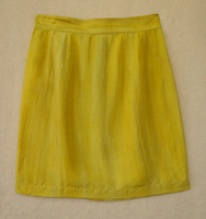 free shipping Silk skirt short design bust skirt small 2012qsb002