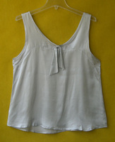 free shipping Silk plain satin small vest 2012bxs015