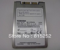"For Toshiba MK1235GSL 120GB HDD1.8"" Micro SATA 5mm 4200RPM 8 MB for laptop x300 x301 2740p 2730p 2540P 2530P"