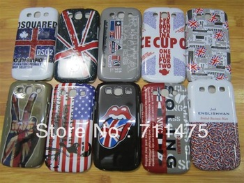 Factory rubber case/TPU cellphone back cover /Global Free shipping /Promotion hard case for galaxy s3 for samsung9300 I9300