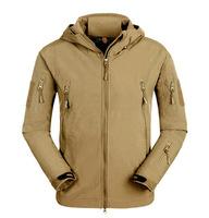 Outdoor tad shark skin soft shell v4.0 outdoor jacket male trench