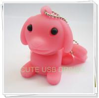 The Dog 2GB/4GB/8GB/16GB/32/64GB Real Capacity USB 2.0 Flash Drive Memory Stick key Free shipping+Drop shipping