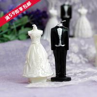 Wedding supplies wedding candle romantic smokeless candle wedding dress the bride small gift