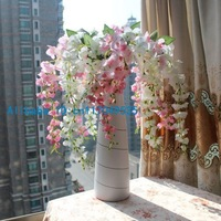 1PCS Bouquet Artificial Wisteria Silk Flower Home Party Decoration 4 Colors Available F107