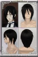 Kuroshitsuji Black Butler Sebastian Michaelis short wig Wigs