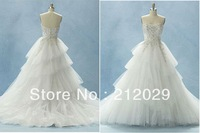 2013 Free shipping Spaghetti Strap Taffeta Wedding Dresses