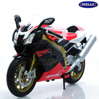 2013 new Wiley roadster Apulia RSV 1000R 1:10 alloy motorcycle model simulation free shipping
