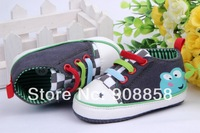 Free shippping Fashion baby toddler prewalker shoes Frog baby toddler  3pair/lot  can mix color&size