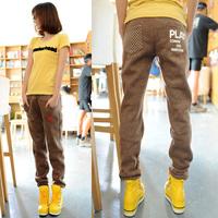 Free Shipping Women's girls casual pants METERS BONWE autumn women's winter young girl school wear trend