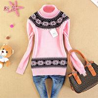 Free Shipping Juniors clothing 2013 spring 100% cotton sweater basic shirt sweater