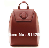 4Colors--Popular Fashion Style Quality Young Lady And Girls' Small Genuine Cow Leather Backpack Everyday-Use Backpack