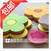 38 hot-selling tapirs heat insulation pad coasters disc pads bowl pad pot holder pad placemat multicolor