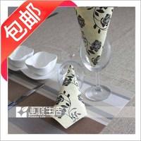 38 print table napkin paper table napkin paper handkerchief facial tissue paper multicolour tissue