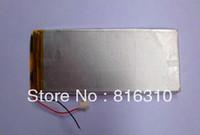 Freeshiping Rechargeable li-polymer battery  4070100 3000mAh(Real Capacity) 3.7V for ICOO D50 D70 PRO II,Q8,Q88 A13,F1 Tablet PC