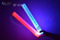 Free shipping 25pcs/lot 4*40cm 7function multi color changing  led foam stick glow stick lef flashing stick