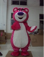 Hot sale! Lots-O'-Huggin' Bear Lotso Toy Sotry  mascot costumes  free shipping