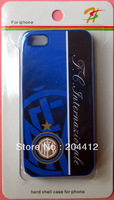 Inter Milan FC Soccer Cell Phone Hard Case Cover for Apple iPhone 5 W/ Packing