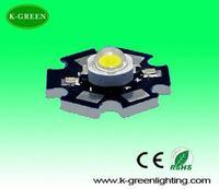 wholesale 3w high power led lamp bead with aluminum heat sink 180-210 lumen American Bridgelux chip free shipping
