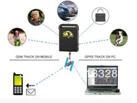 Promotion---factory selling TK102-2 Vehicle / Car GPS tracker  TRI bands GPS tracking system dropshipping hotsell