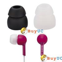 8 X Pairs Double Mp3 Ears Earphones Headphone In Ear Silica Gel Buds Tips