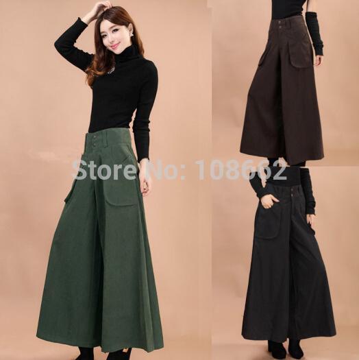 Online Cheap Skirt Pants Falda Pantalon 2015 New Brand Design Wide ...