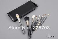 Free shipping,New 8 Pieces Makeup Brushes & Tools  Makeup Brush Sets kit (5pcs / lots) wholesale