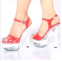 2013 fashion high heels crystal shoes sandals wedding shoes plus size shoes party shoes free shipping