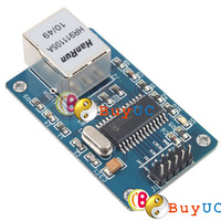 New ENC28J60 Ethernet LAN Network Module Schematic For Arduino 51 AVR LPC STM32