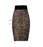 Free Shipping Fashion hot-selling bandage hot-selling leopard print miniskirt bust skirt