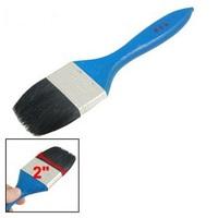 "Furniture Painting 2"" Wide Bristle Blue Wooden Handle Paint Brushes 10 Pcs"