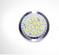 free shipping 5630 15leds 6w 550lm mr16 dc 12v led downlight 50pcs one lot wholesale CE&RoHS certificated