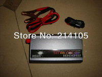 NEW 24v DC to AC 220v AC 1000W Mobile Car Power Inverter + Free shipping