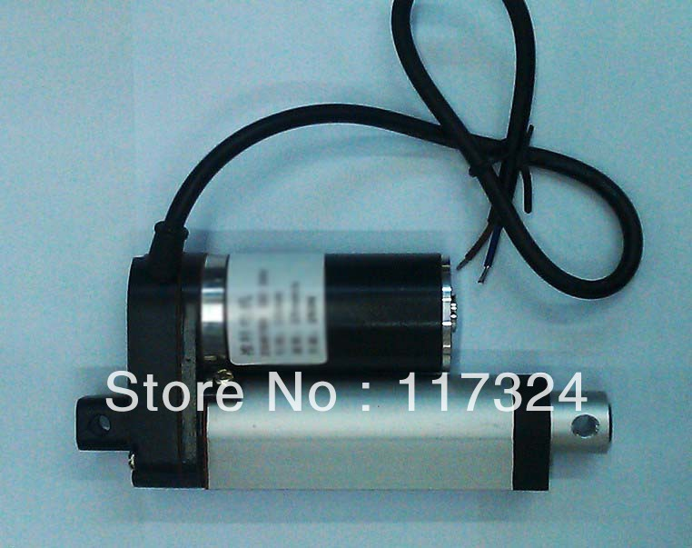 hot !most competitive 100mm stroke, 24V electric linear actuator, customized stroke(China (Mainland))