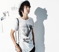 free shipping summer short-sleeve T-shirt slim casual t-shirt men's clothing t-shirt