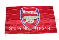 Soccer New Arsenal Football club 90x150cm Flag Banner High quality  free shipping