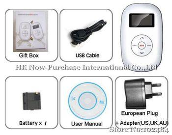 10pcs/lot Led Screen Global Gps Tracker Tk105 Personal Tracker (quadband, Two Way Calling, Sms Alerts) &fast Shpping
