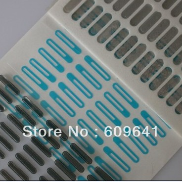 Original Earpiece Speaker Grill and Self Adhesive Cover Anti-Dust Anti dust Mesh for iPhone 4 4G 4S(China (Mainland))