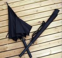 Umbrella extra large samurai sword umbrella poleaxe broadsword umbrella gun umbrella knife umbrella death knife umbrella