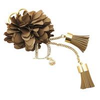 wholesale10pcs/lot Car keychain bags pendant women's gift bag buckle with diamond d tassel flower