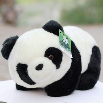 Free Shipping Plush toy gift doll pandaway giant panda doll tendrils 16cm size