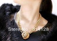 2013 Queen Avatar lion avatar thick necklace collarbone chain antique fashion necklace