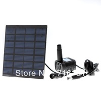 Watering Kit  For Garden Plants and pool  Solar Power Fountain Soar Pump/Water Pump, freeshipping,  Wholesale