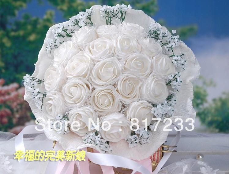 Красивые букеты цветов на свадьбу