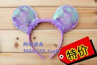 free shipping 6pcs/lot 20g halloweenish party supplies hair bands MICKEY MINNIE headband hair bands hair accessory 4