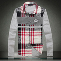 Quality clothing 219 2013 spring casual patchwork long-sleeve shirt 8806f100