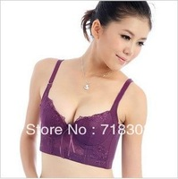 Extra gift for you 2014 hot sale Lace Sexy Bra  Women's Lingerie Bra&brief  B C cup Bra Lanny Free Shipping