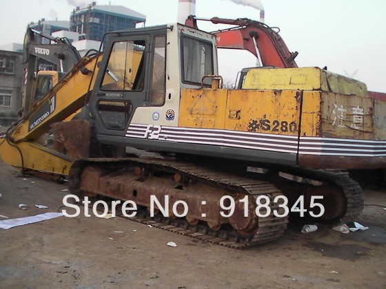 USED SUMITOMO S280F2 EXCAVATOR GOOD CONDITION SALE IN CHINA(China (Mainland))