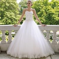Free Shipping New Arrival Fashion Tube Top Lace Slim High-quality Elegant Sweet Princess The Bride Wedding Dress