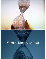 Free shipping! Biggest Size!(20cm high) Valentines Gift Awaglass Hand-blown Timer Bubble Hourglass